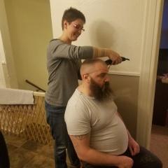 Cutting David's Hair (1)