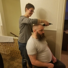 Cutting David's Hair (1)